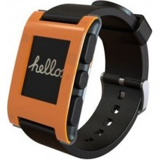 Pebble Watch (Orange)