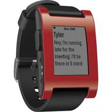 Pebble Smart Watch Red